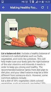 How to eat properly - náhled