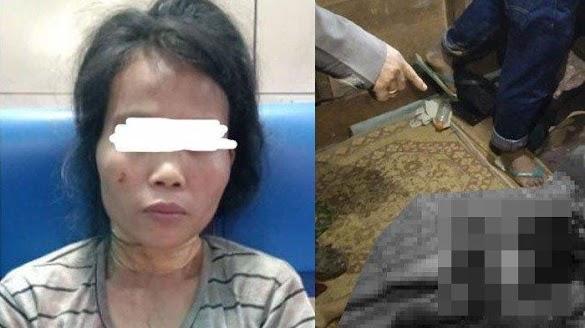Kisah Ibu Muda Bunuh 3 Anak Kandungnya Pakai Parang: Pelaku Terlentang saat Mertua Datang