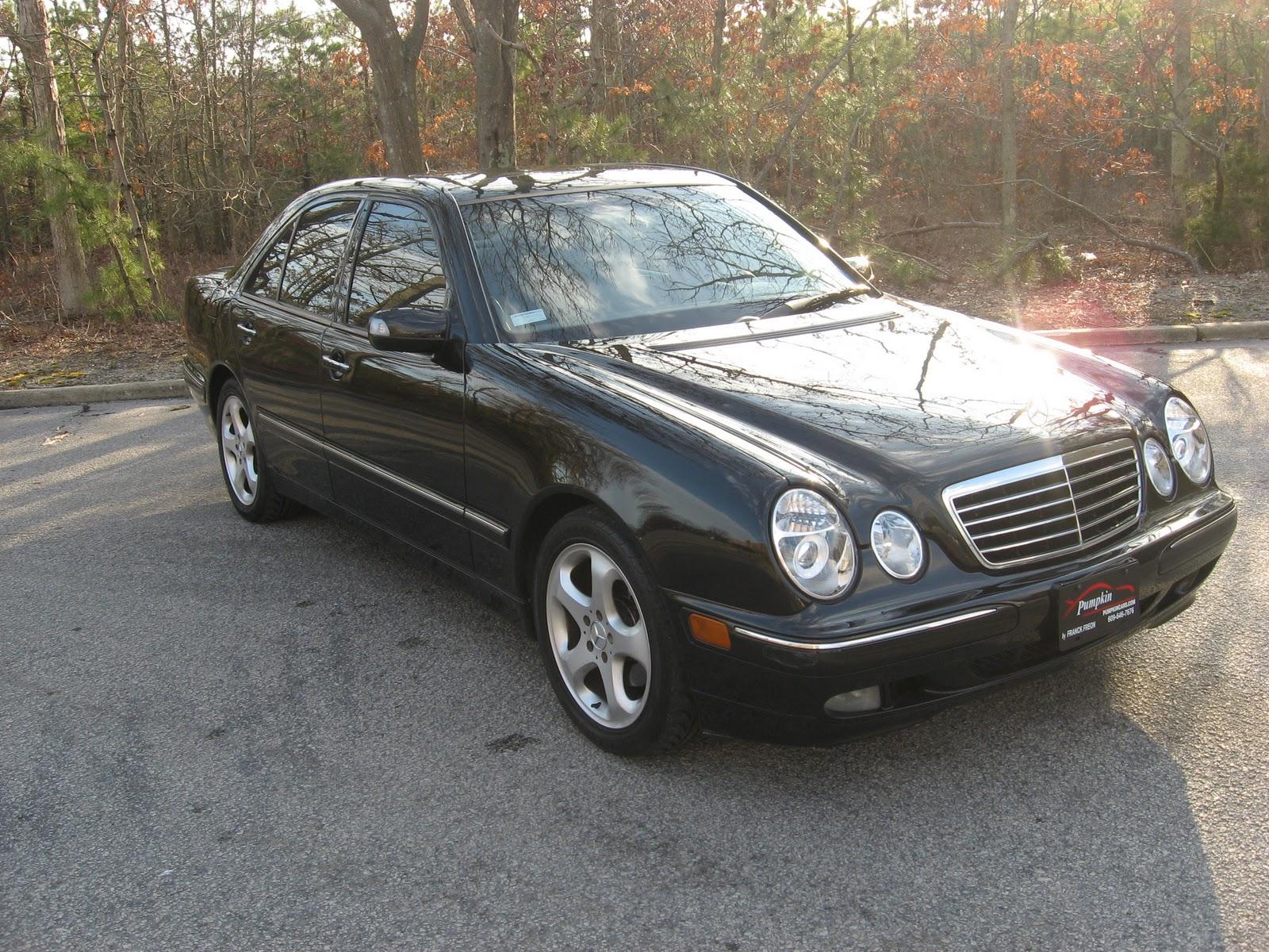 pumpkin fine cars and exotics 2002 mercedes benz e320. Black Bedroom Furniture Sets. Home Design Ideas