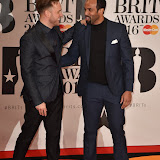 OIC - ENTSIMAGES.COM - Olly Murs and Craig David at the  The BRIT Awards 2016 (BRITs) in London 24th February 2016.  Raymond Weil's  Official Watch and  Timing Partner for the BRIT Awards. Photo Mobis Photos/OIC 0203 174 1069