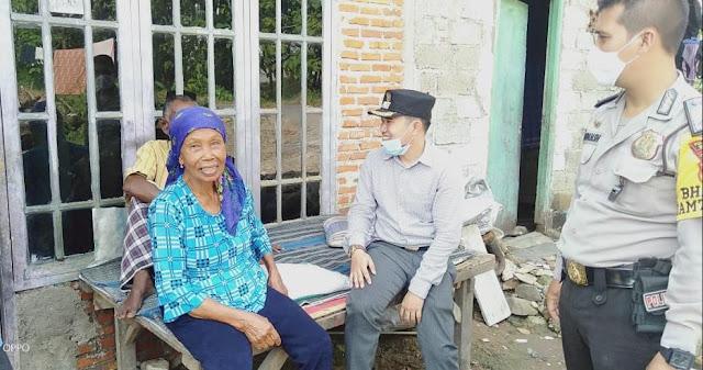 Kades Setia Asih Turun Gunung, Cek langsung Warga Penerima BLT Dana Desa