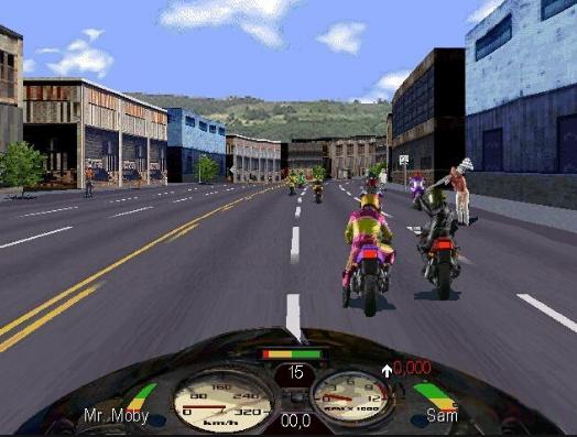 Road Rash 1995