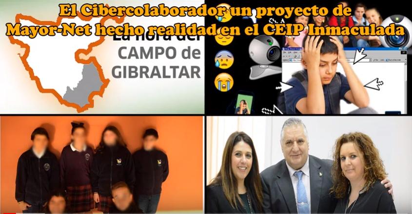 El Cibercolaborador un proyecto de Mayor-Net hecho realidad en el CEIP Inmaculada