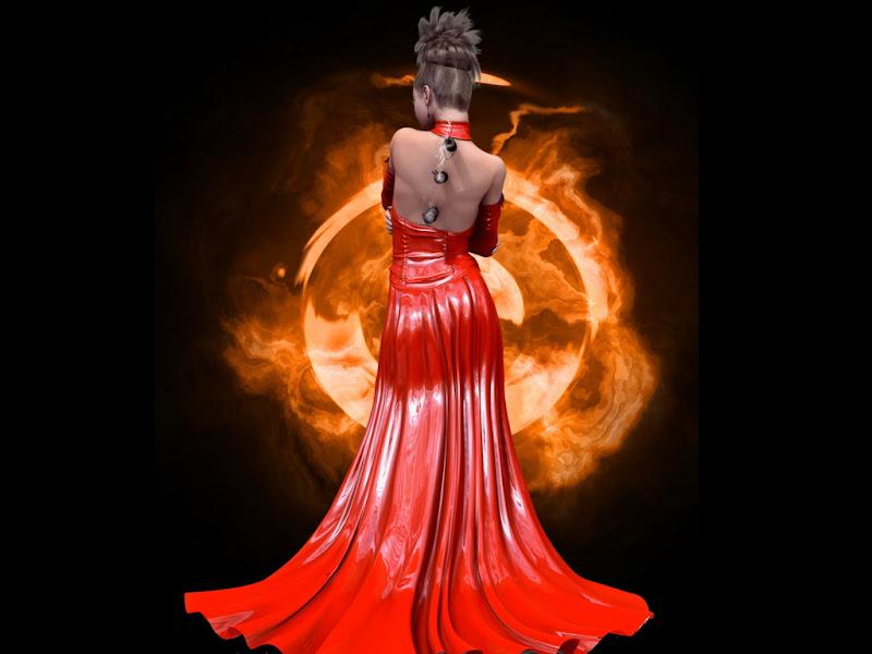 Fburning Eye, Wicca Girls