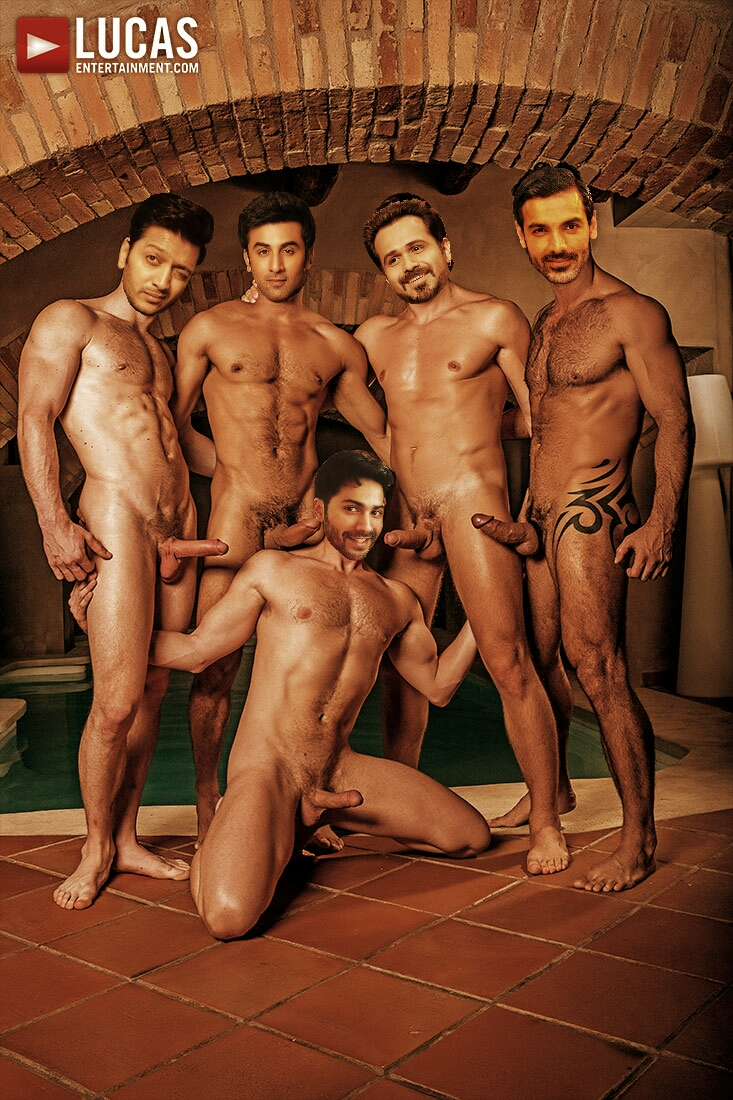 Nude Indian Male Celebrities Post 54- Bollywood Males Orgy 4-9743