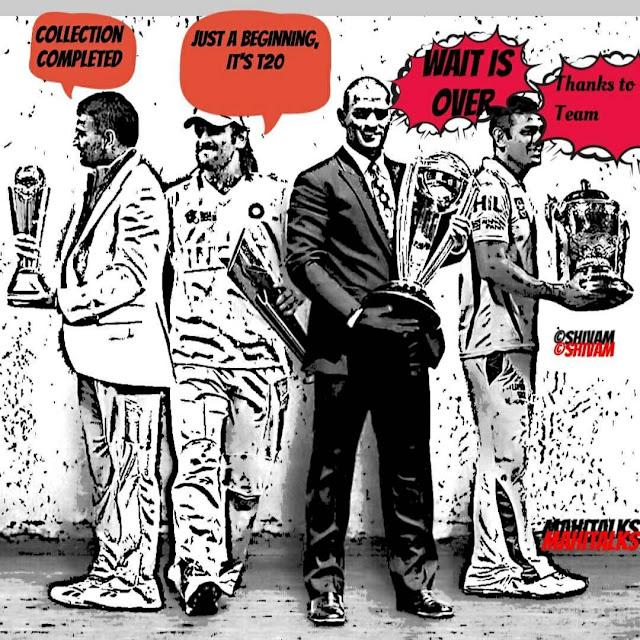 Ms Dhoni Image, Mahi Image, , Visual Graphic, Msd Image,  Bleed Blue, Daily Comics, Team Yellow, World Cup, Champions T20, Ipl
