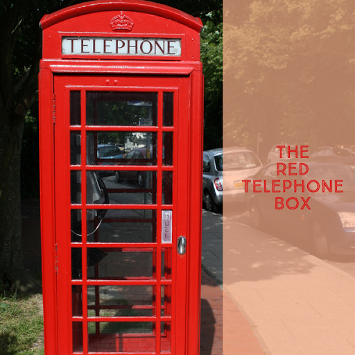 1970s British Red Telephone Box