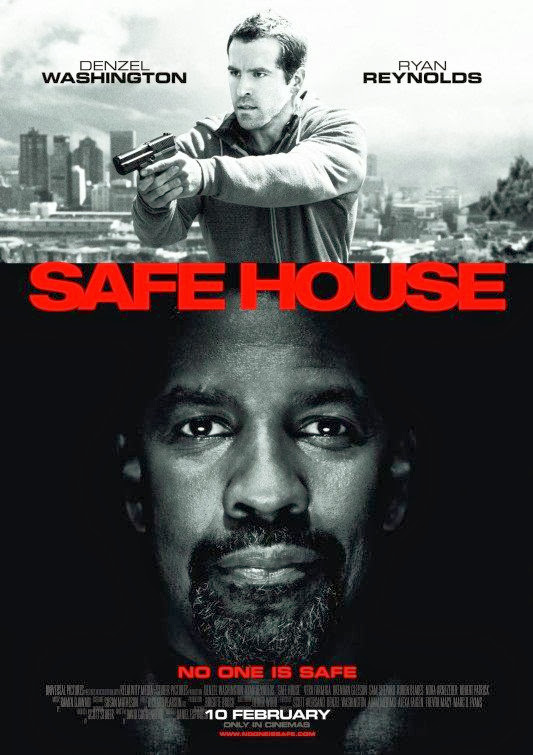 Poster Of Safe House (2012) Full Movie Hindi Dubbed Free Download Watch Online At Alldownloads4u.Com