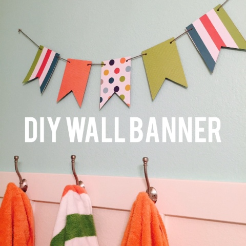 DIY Colorful Wall Banner