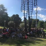 2018-10-08 Els grups de tarda realitzen la Caminada anual pel Garraf