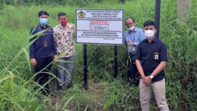 Kantor Wilayah DJP Riau Sita Rp4,4 Miliar Aset Pengemplang Pajak