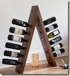 Contemporary wine ladder