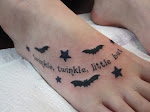 """twinkle, twinkle, little bat""..."