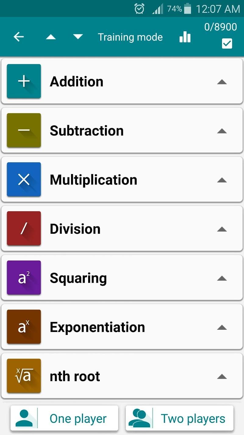 Math Tricks Screenshot 1