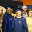 Graduation May 2011: Dr. Barro and CAS Joint Degree graduate, Anna Henry and family.