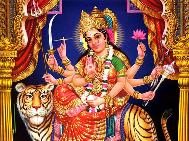 Sri Durga Apaduddharaka Stotram - Namaste Sharanye Shive Sanukampe