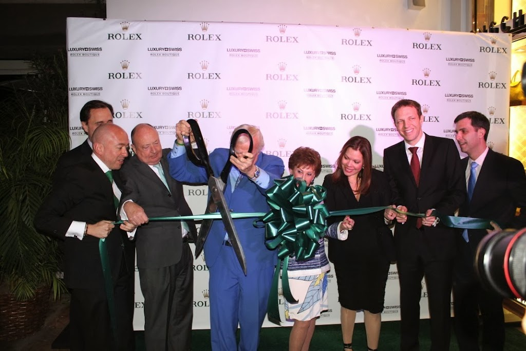 Rolex Miami Boutique Luxury Swiss LLC Ribbon Cutting 7