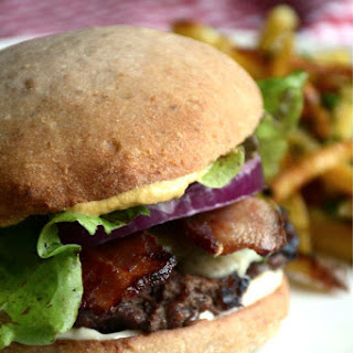 The Perfect Bison Burger.