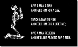 Give a man a fish prayer