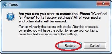 Hình 4 - Hướng dẫn khôi phục, Restore iPhone và iPhone 6 Plus