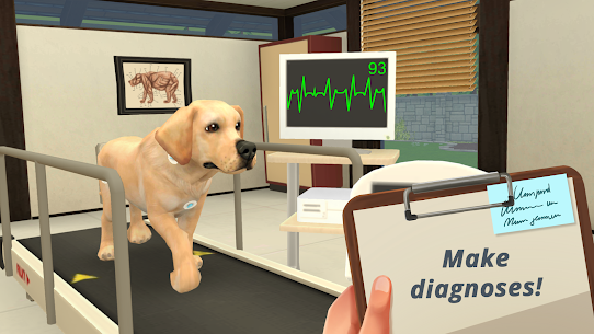 Pet World – My Animal Hospital – Dream Jobs: Vet MOD (Money) 1