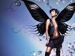 Black Butterfly Girl