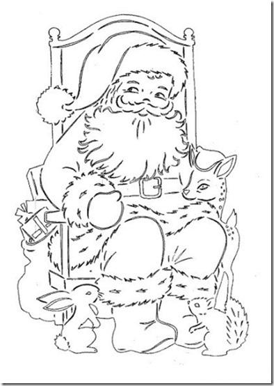 patrones para recortar ventanas navidad  (14)