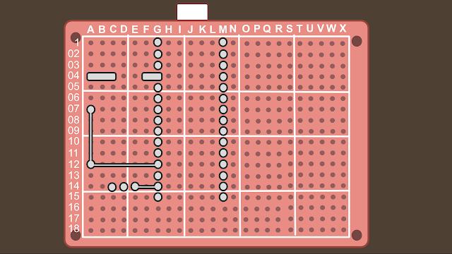 Synth build guide MIDI circuit 2