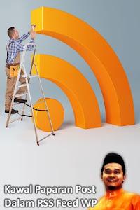Kawal Paparan Post dalam RSS Feed WordPress