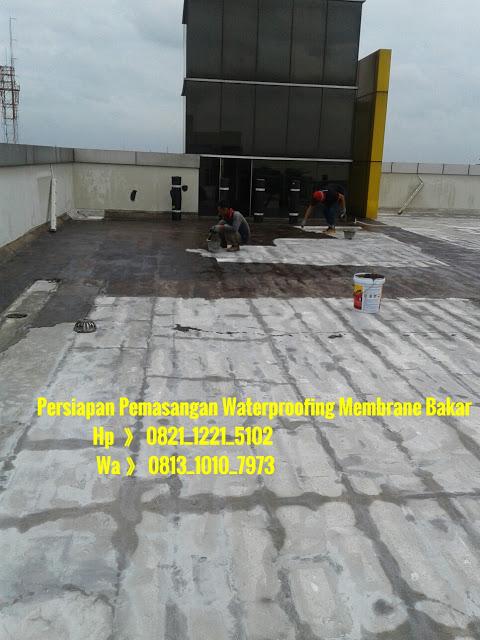 Aplikasi Waterproofing Membran Bakar Sangat Tepat Diterapkan Pada Struktur Beton Seperti Masjidgedungrukorumahkolam Renangkamar Manditalangrestoran