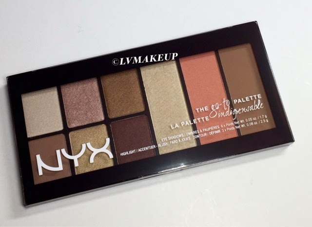 NYX The go-to Palette in Wanderlust Review and Swatches