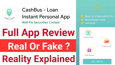 CashBus Loan App Review 2021 | Cashbus Loan App Real Or Fake ? EarningSecrets