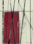 Glasobjekt, Glas, Kupferdraht, Kupferfolie, Schwarzlot aufgeschmolzen 2006