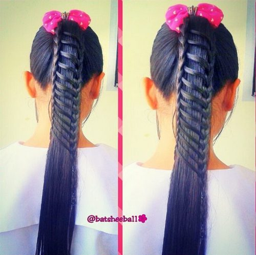 Cute Braided Hairstyles trendy for kids 2017 5