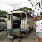 With the jeepney from Dauin to Dumaguete (Negros)