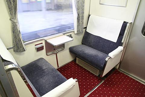 JR寝台特急「日本海」 4001レ A寝台 喫煙スペース