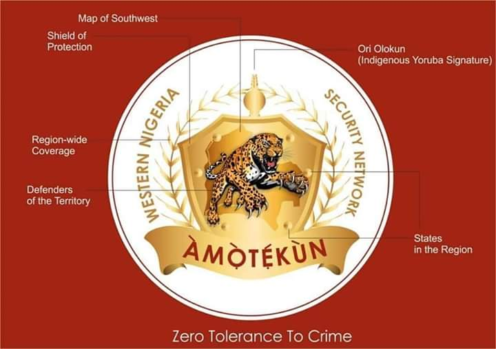 Amotekun:The Yoruba State Joint Security  Outfit Will Be Launched On Thursday 9th of January 2020.