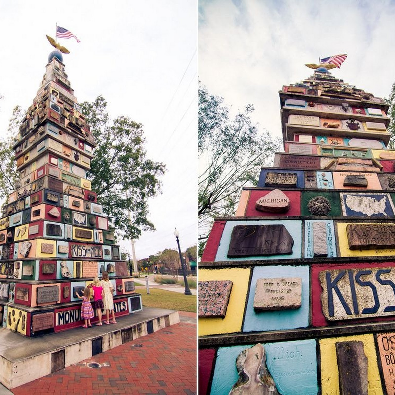 Kissimmee's Monument of States