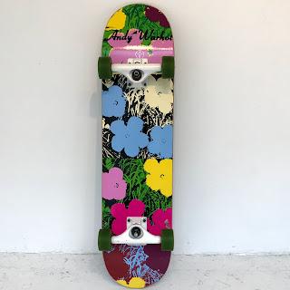 Alien Workshop + Andy Warhol Skateboard