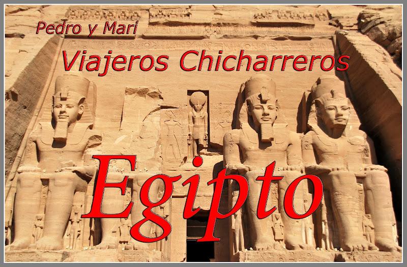 Pedro y Mari en Egipto