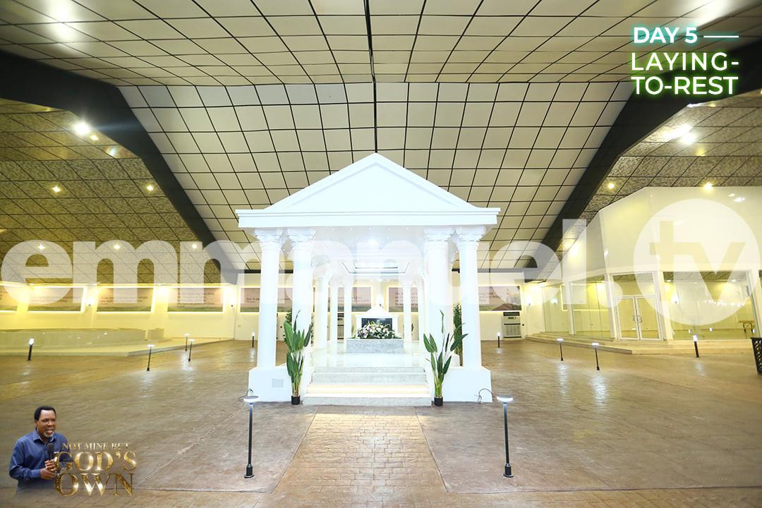 See photos of late T.B Joshua's Mausoleum