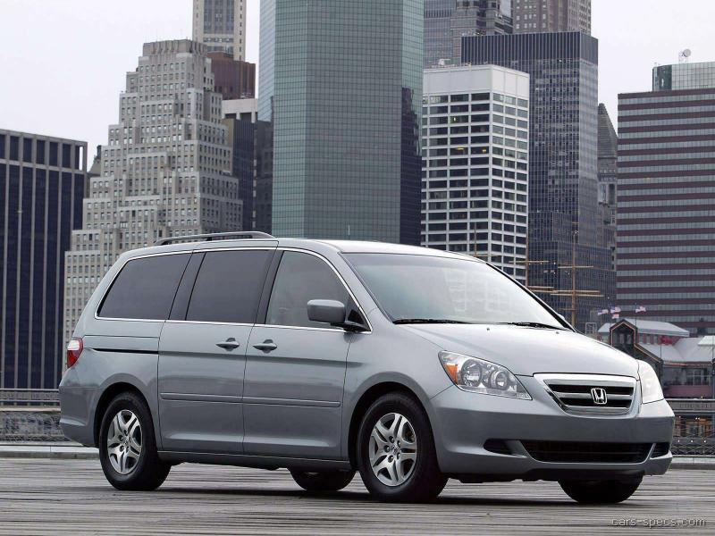 2005 honda odyssey minivan specifications pictures prices. Black Bedroom Furniture Sets. Home Design Ideas