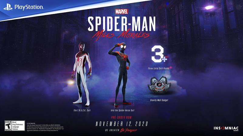 spiderman miles morales ps5, spiderman miles morales pre order