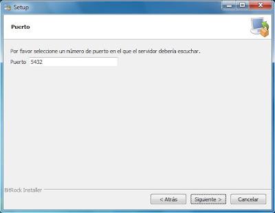 Instalar PostgreSQL 9.1 en Microsoft Windows 7