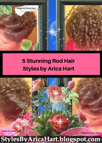 Hair rods styles, black rod hairstyles, rod set hairstyles