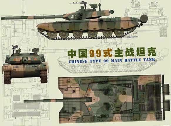 танк Китая