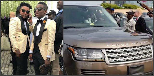 Small Doctor's Range Rover Storms Oritsefemi's Wedding (Photos)