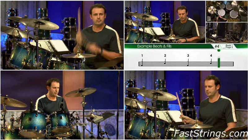 Mike Michalkow - Drumming System 2.0, DVD 1-3