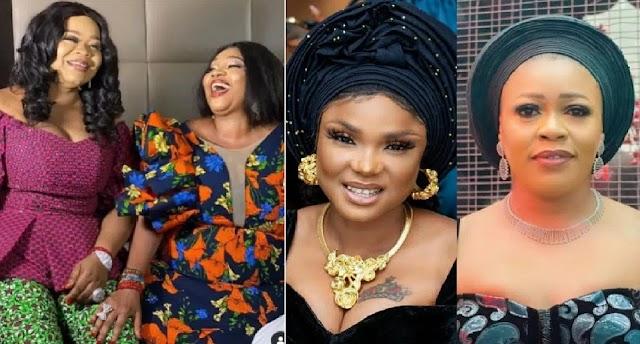Trouble looms as Jaiye Kuti shades Iyabo Ojo and Omo Brish in her birthday message to her bestie, Bimbo Oshin