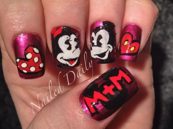 Day 238 - Minnie and Mickey